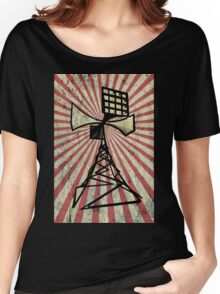 Siren radio tower Women's Relaxed Fit T-Shirt