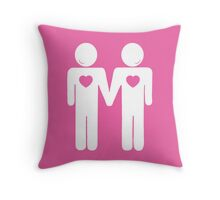 The Love Wins Collection by Mikesbliss Throw Pillow