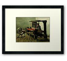 Vincent Van Gogh - Weaver, 1884 Framed Print