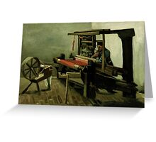 Vincent Van Gogh - Weaver, 1884 Greeting Card