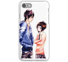 Anime Couple Suki-tte ii na yo iPhone Case/Skin