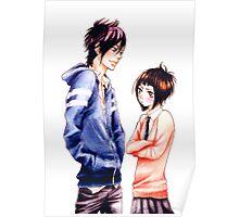 Anime Couple Suki-tte ii na yo Poster