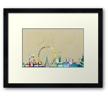 Watercolour London Framed Print