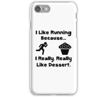 Running Dessert iPhone Case/Skin