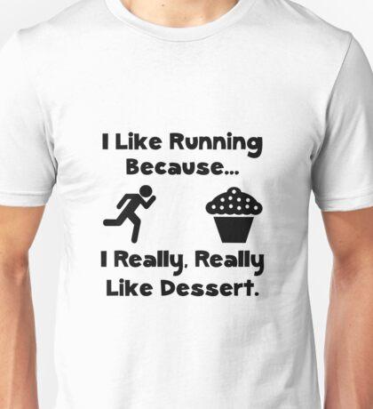 Running Dessert Unisex T-Shirt