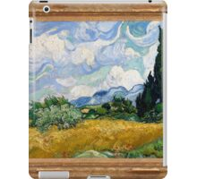 Vincent Van Gogh - Wheat Field with Cypresses, Impressionism. Van Gogh iPad Case/Skin