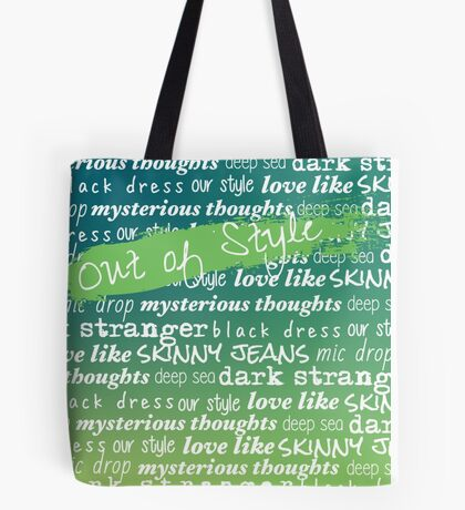 Teen Aesthetic - Out of Style Tote Bag