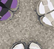 Birkenstocks and Socks Sticker