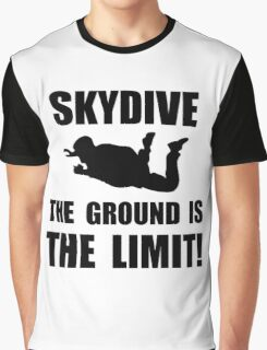 Skydive Ground Limit Graphic T-Shirt