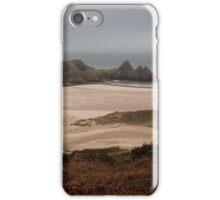 Three Cliffs Bay Panorama iPhone Case/Skin