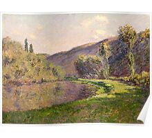 Claude Monet - Jeufosse  The Effect in the Late Afternoon  Poster