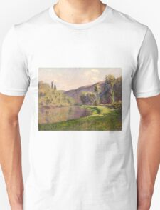 Claude Monet - Jeufosse  The Effect in the Late Afternoon  T-Shirt