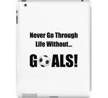 Soccer Goals iPad Case/Skin
