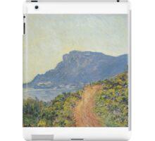 Claude Monet - La Corniche near Monaco  Impressionism iPad Case/Skin