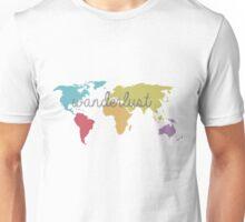 World Map - Wanderlust Unisex T-Shirt