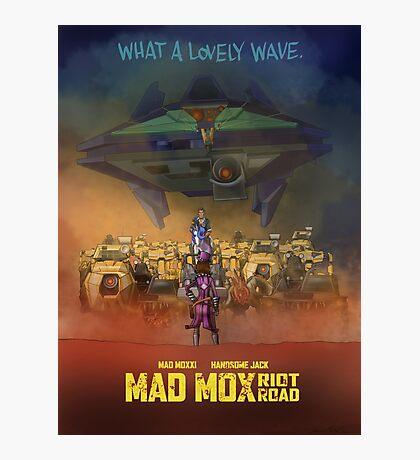 Mad Mox: Riot Road Photographic Print