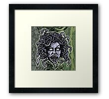 Medusa Gorgon Framed Print