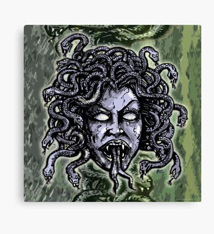 Medusa Gorgon Canvas Print