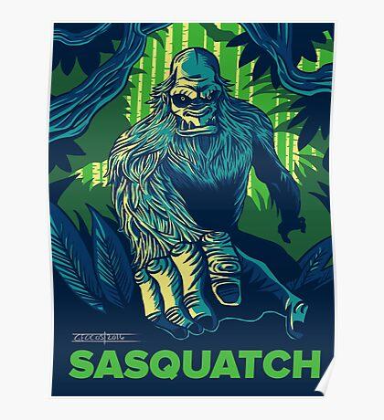 Summer Sasquatch Poster