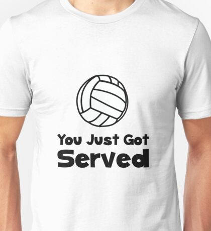 Volleyball Served Unisex T-Shirt