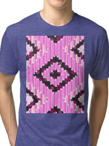 cool retro patch country style  Tri-blend T-Shirt