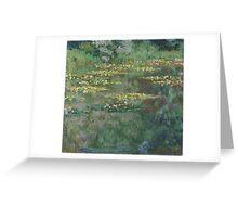 Claude Monet - Le Bassin des Nympheas (1904) Greeting Card