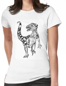 Velociraptor Womens Fitted T-Shirt