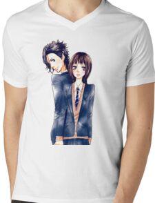 Anime Couple Suki-tte ii na yo Mens V-Neck T-Shirt