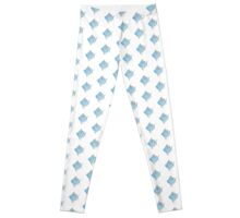 Watercolor tropical fish 1 Leggings
