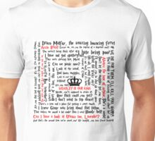Ron Weasley Quotes Unisex T-Shirt