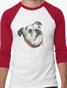 Olive Men's Baseball ¾ T-Shirt