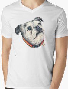 Olive Mens V-Neck T-Shirt