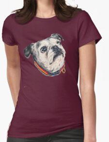 Olive Womens Fitted T-Shirt