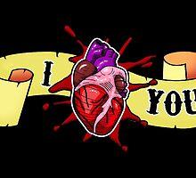 I HEART you by SquareDog