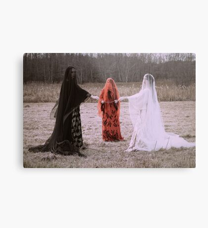 Threads of Fate Metal Print