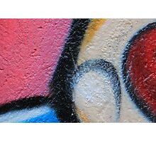 Bright Colors on a Wall Photographic Print