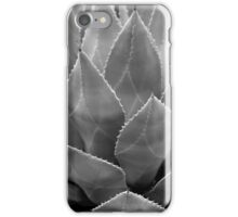 Agave Tucson Airport 2 BW iPhone Case/Skin