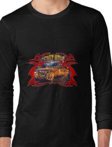 Street outlaw fire car  Long Sleeve T-Shirt