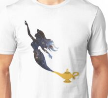 Mermaid - Genie Lamp - Galaxy Unisex T-Shirt