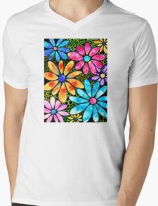 Floral Art - Big Flower Love - Sharon Cummings T-Shirt