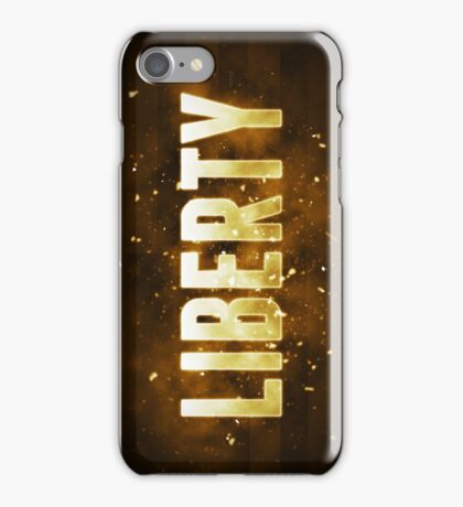 Liberty iPhone Case/Skin