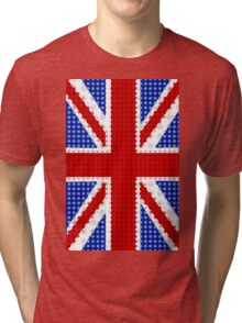 The Union Flag (Great Britain) Collection By Mikesbliss Tri-blend T-Shirt