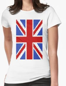 The Union Flag (Great Britain) Collection By Mikesbliss Womens Fitted T-Shirt