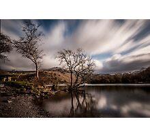 Llyn Padarn Shoreline  Photographic Print