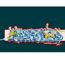 graffiti style SCREAM Photographic Print