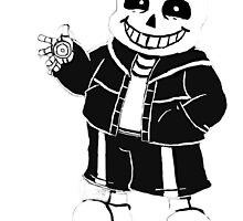 Undertale Sans character by banykun