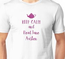 Keep Calm and Read Jane Austen Unisex T-Shirt