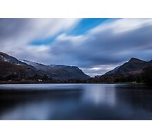 Snowdonia from the shores of LLyn Padarn  Photographic Print