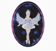 Ballerina snowflake fairy by mcdesign