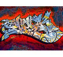 Graffiti Shock Photographic Print